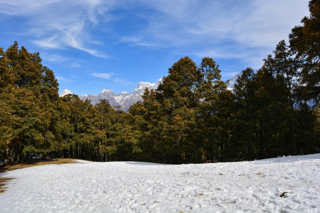 Ski Point in Auli, uttarakhand