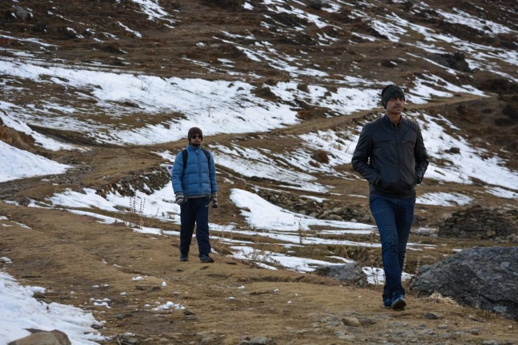 Trekking in Auli, uttarakhand