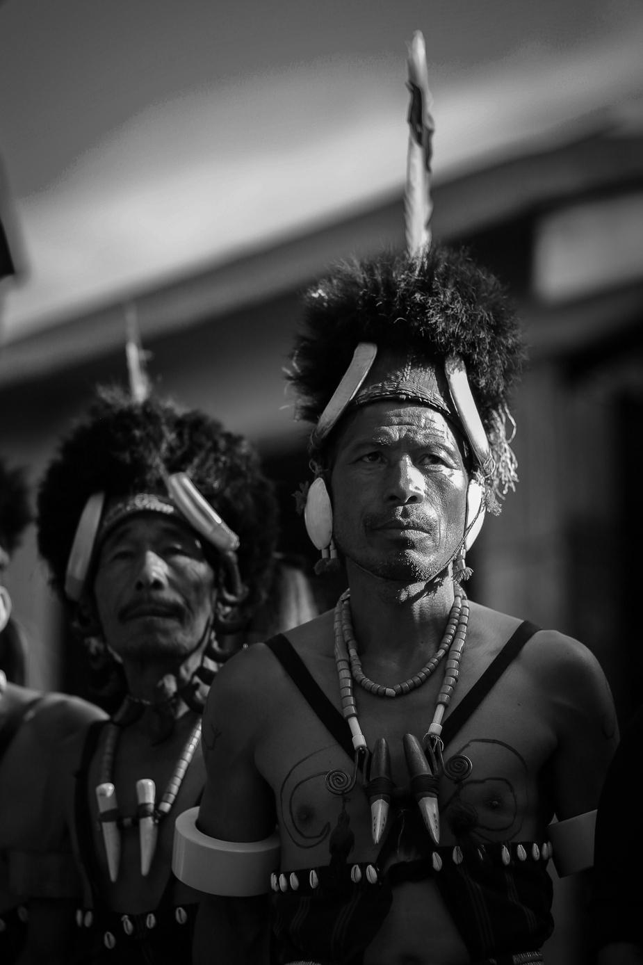 Portrait in Hornbil Festival 2018 by Bawray Banjaray