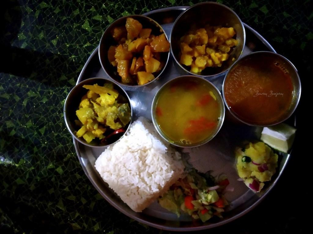 Assam Food Thali