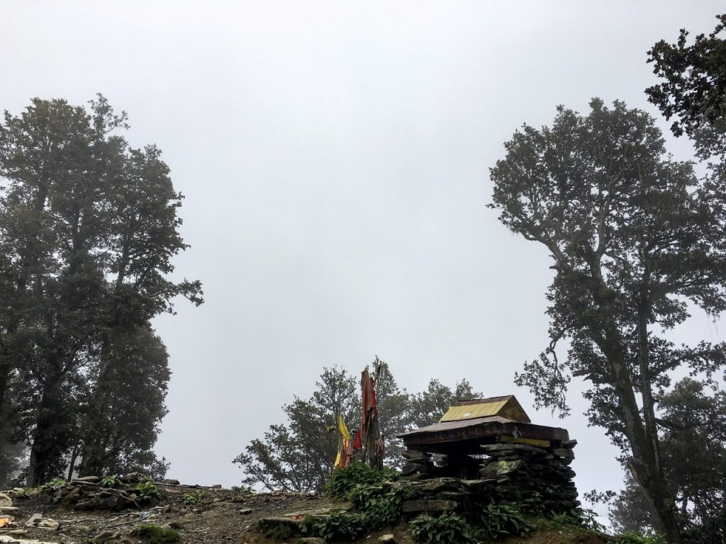 Thachru Point at Shrikhand Mahadev Trek