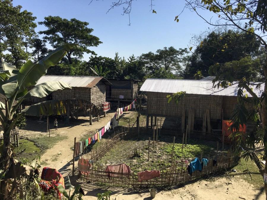 mising village in majuli island of assam