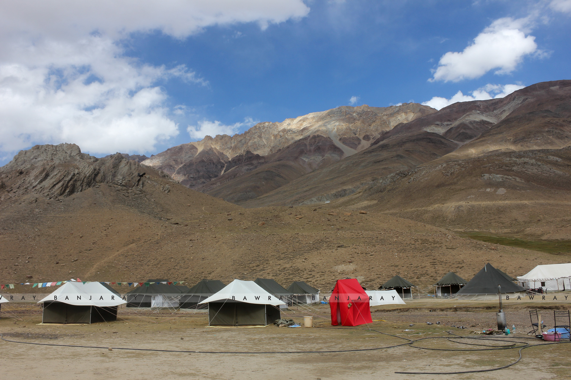 Permanent tents in Spiti are a big menace in the Indian Himalayan Region