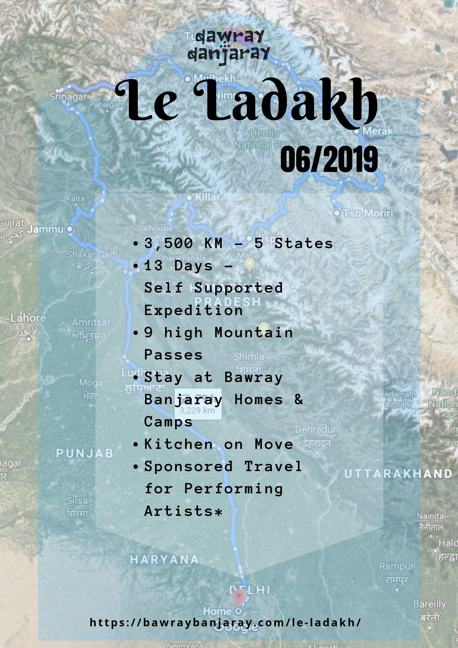 Bawray Banjaray expedition to Ladakh