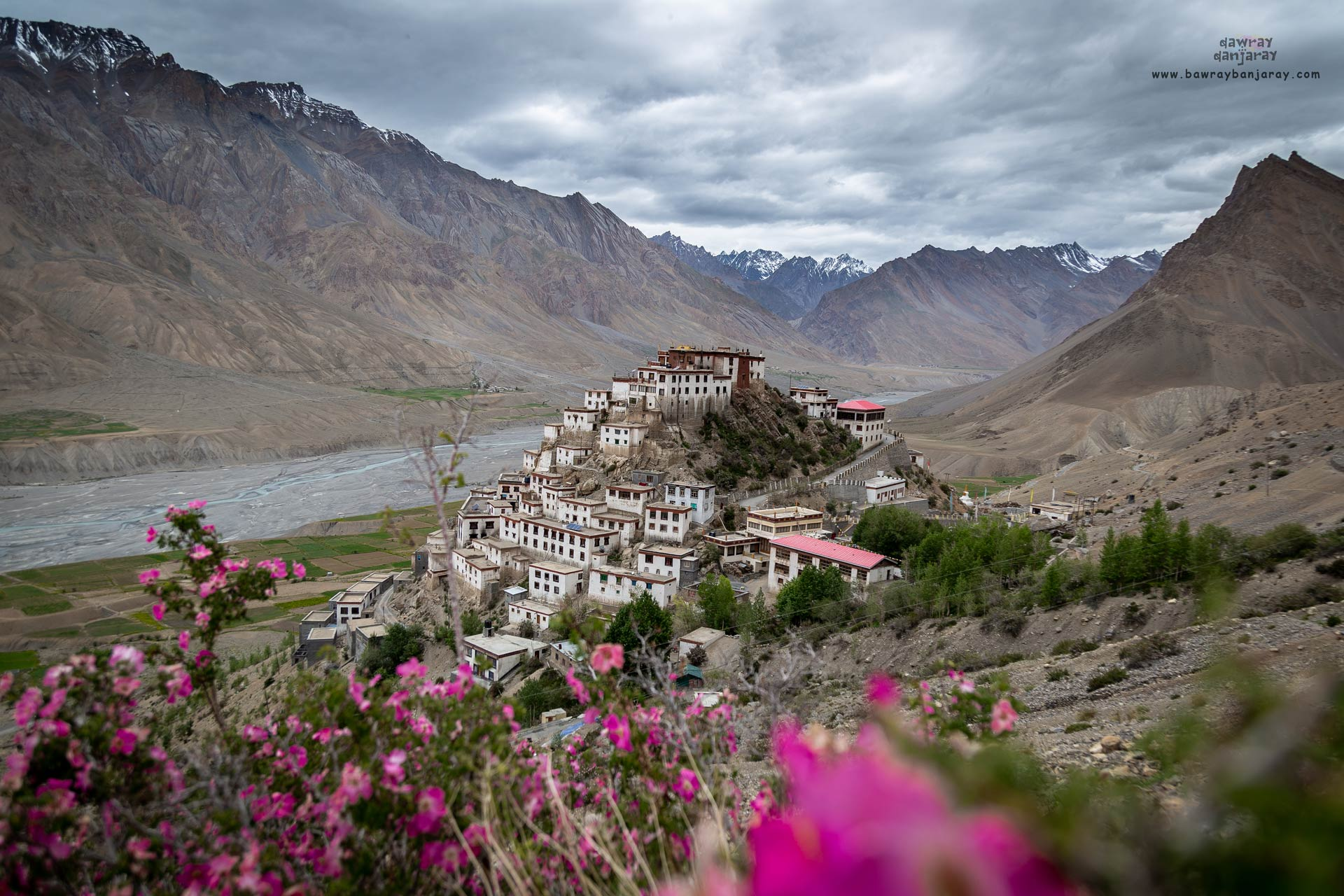 Kee is one of the most famous villages of Spiti Valley