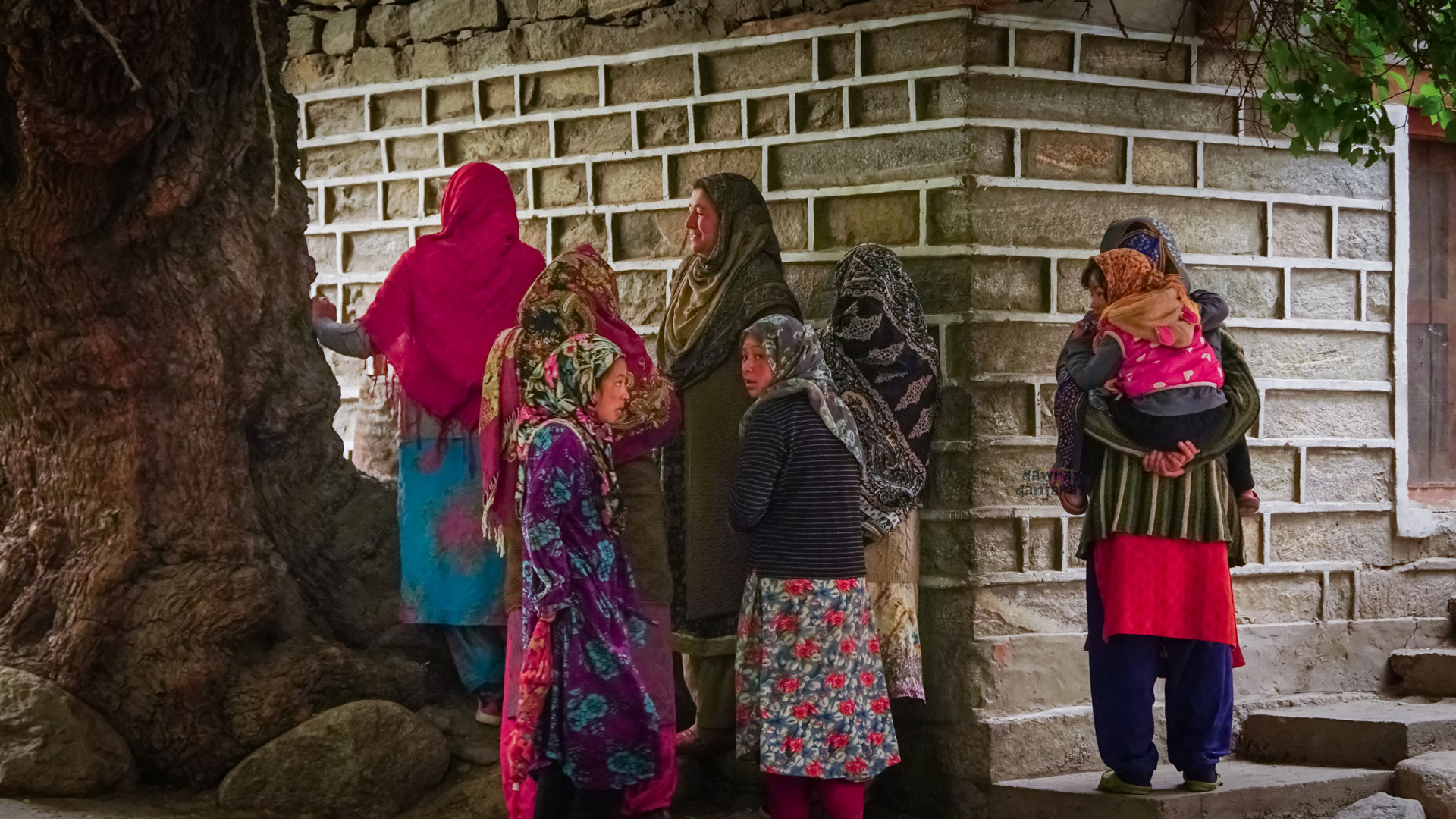 Women of Turtuk