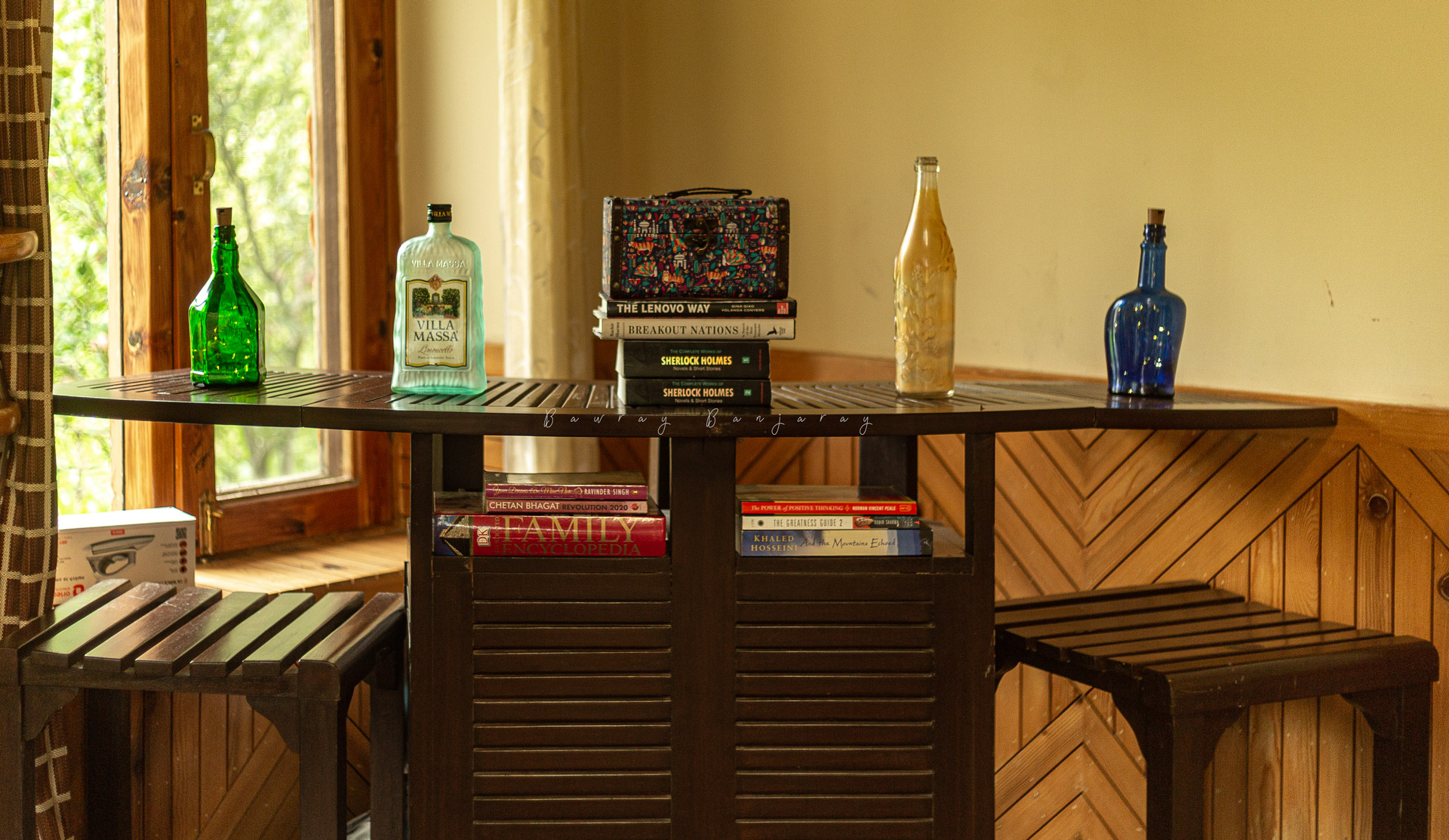 Small Bar section at Lagom Stay