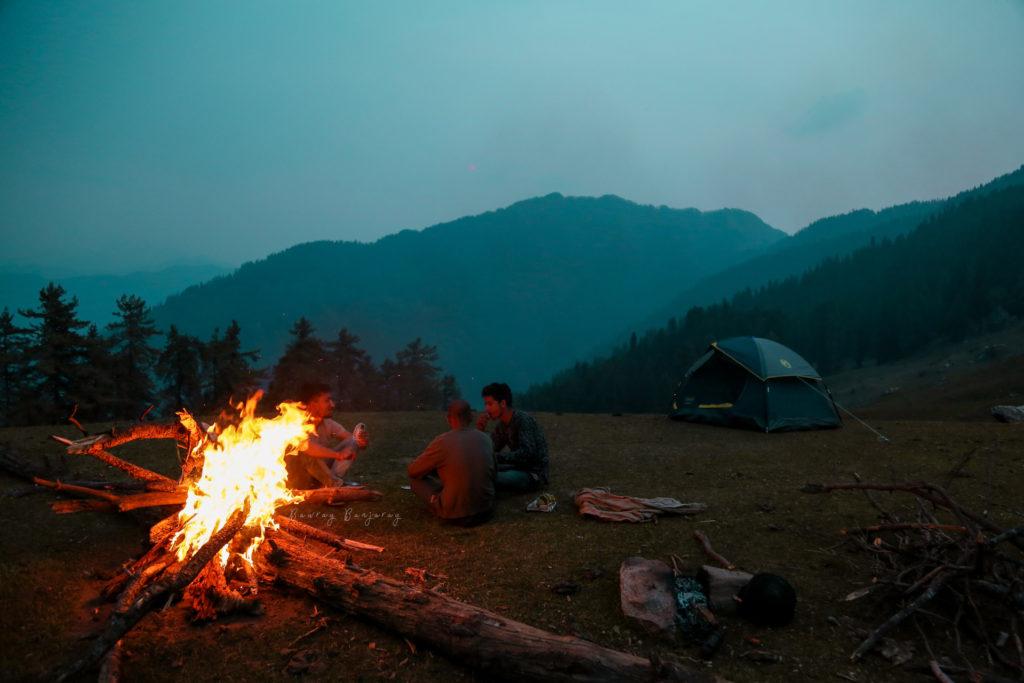 Bawray Banjaray Camping In Sainj Valley