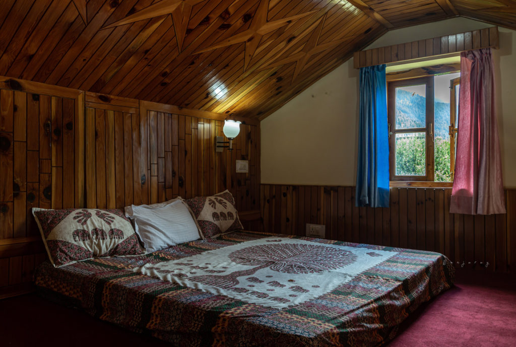 Attic of the Lagom Stay
