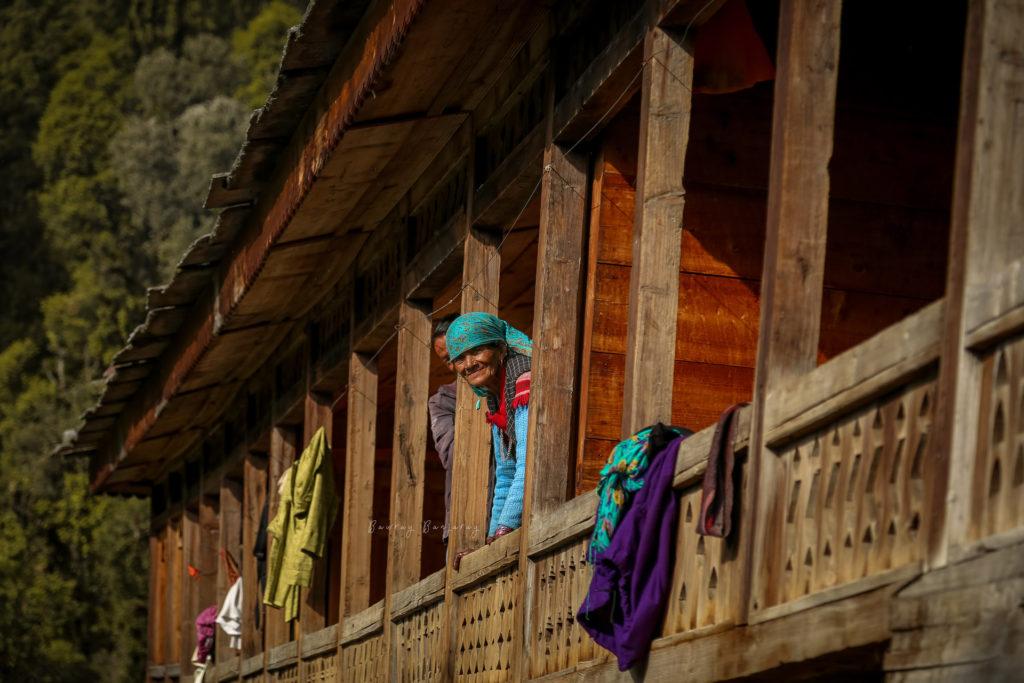 People of Upper Neahi Village in Sainj Valley