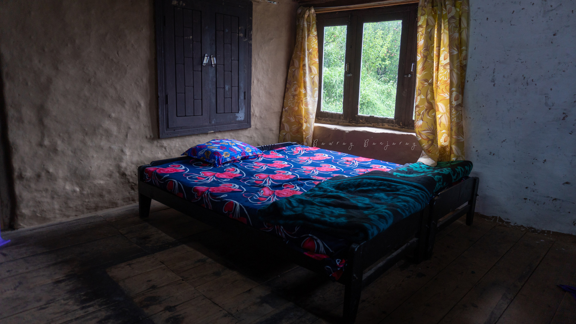 Bedroom of Homestay in Manali Vashisht