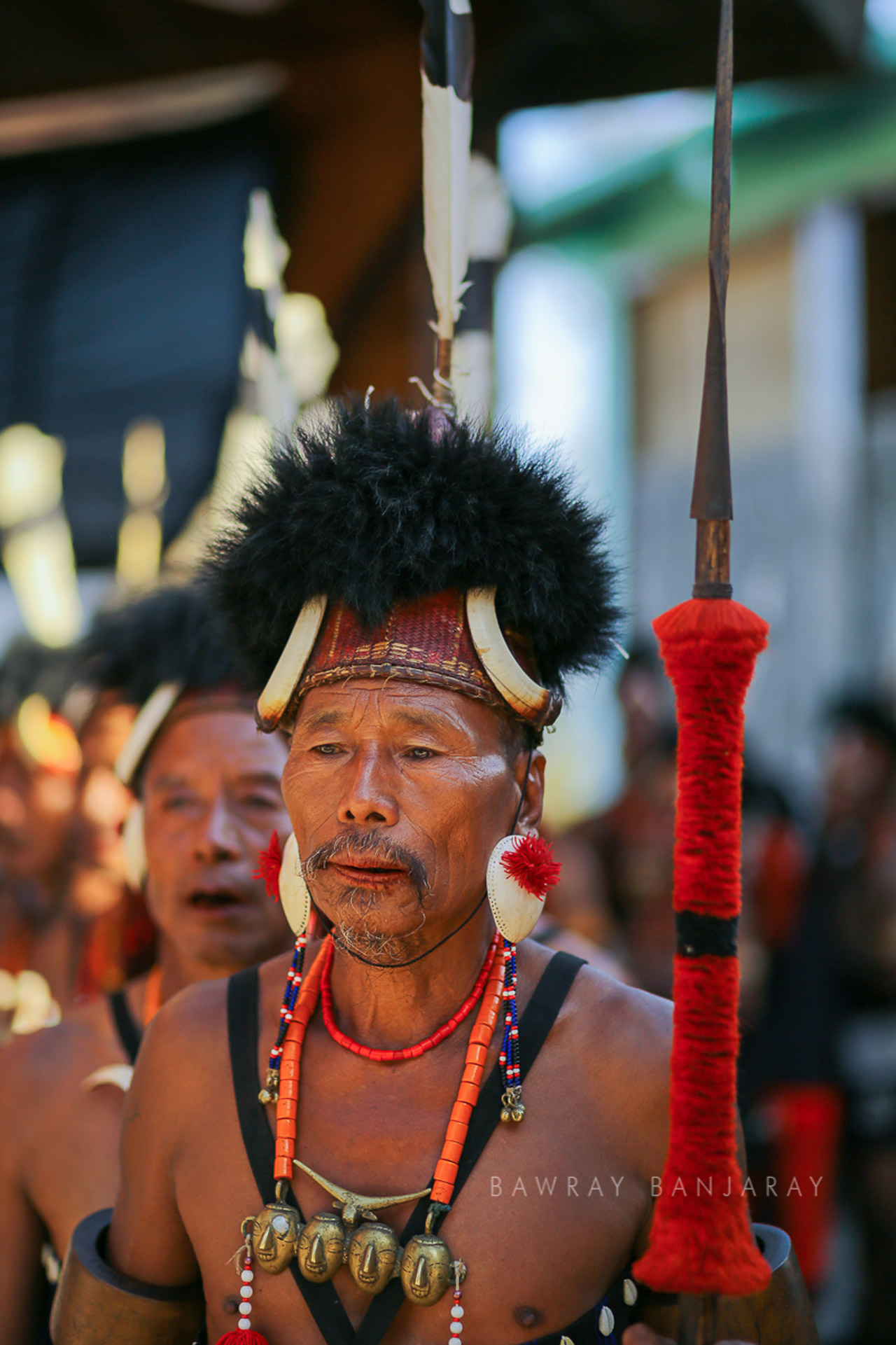 A tribal at the Hornbill Festival 2018