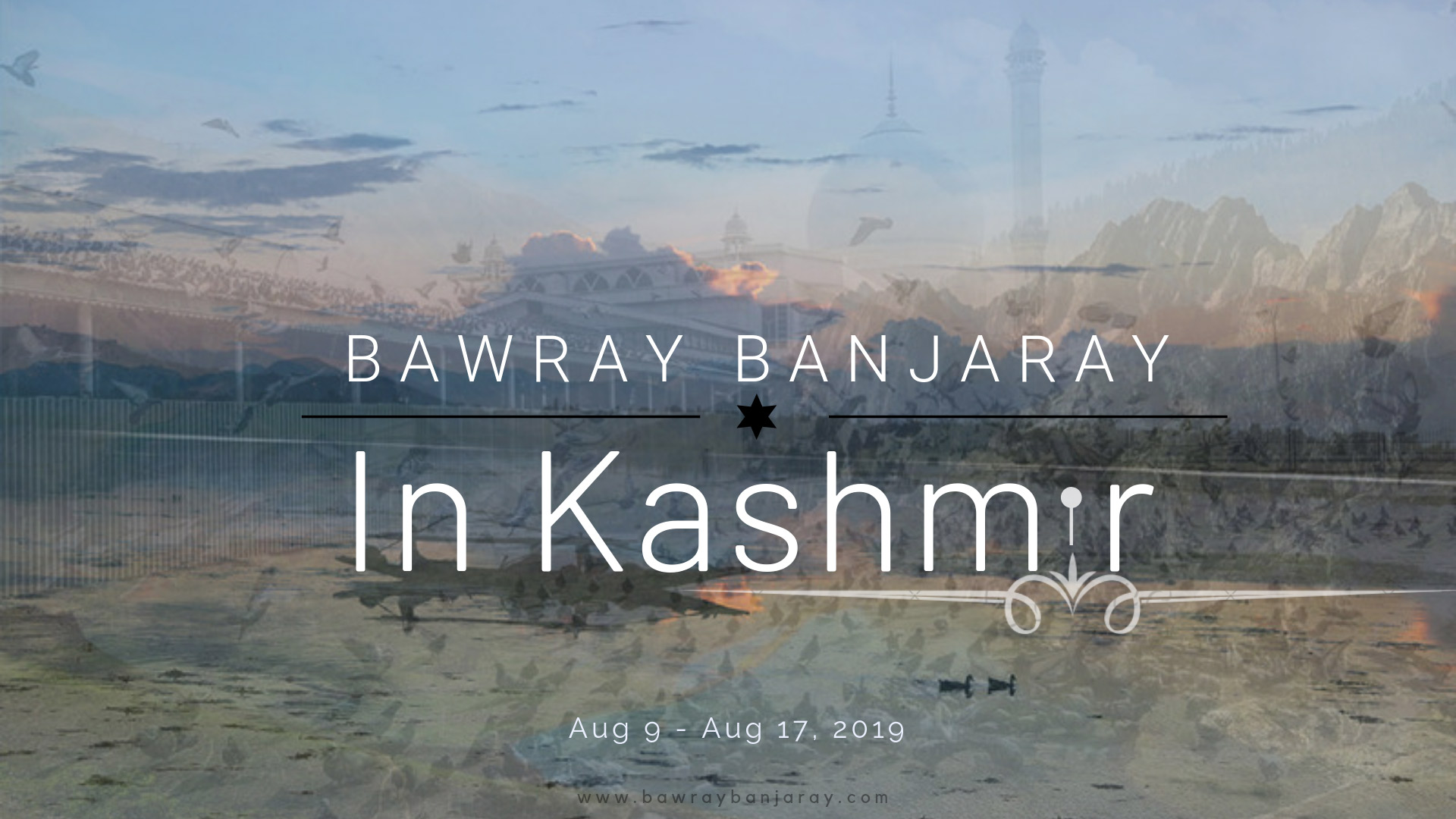 Bawray Banjaray In Kashmir Poster
