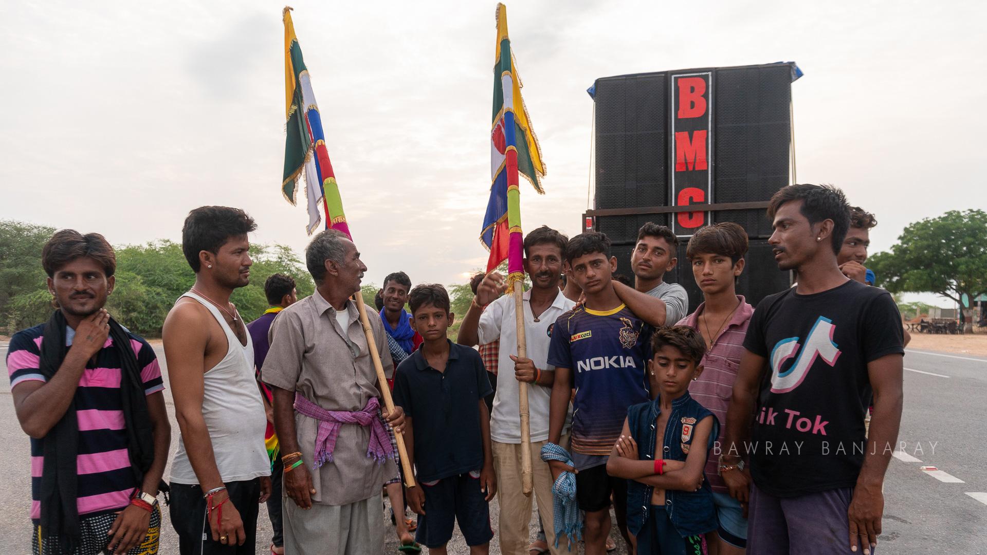 Devotees of Tanot Mata Temple