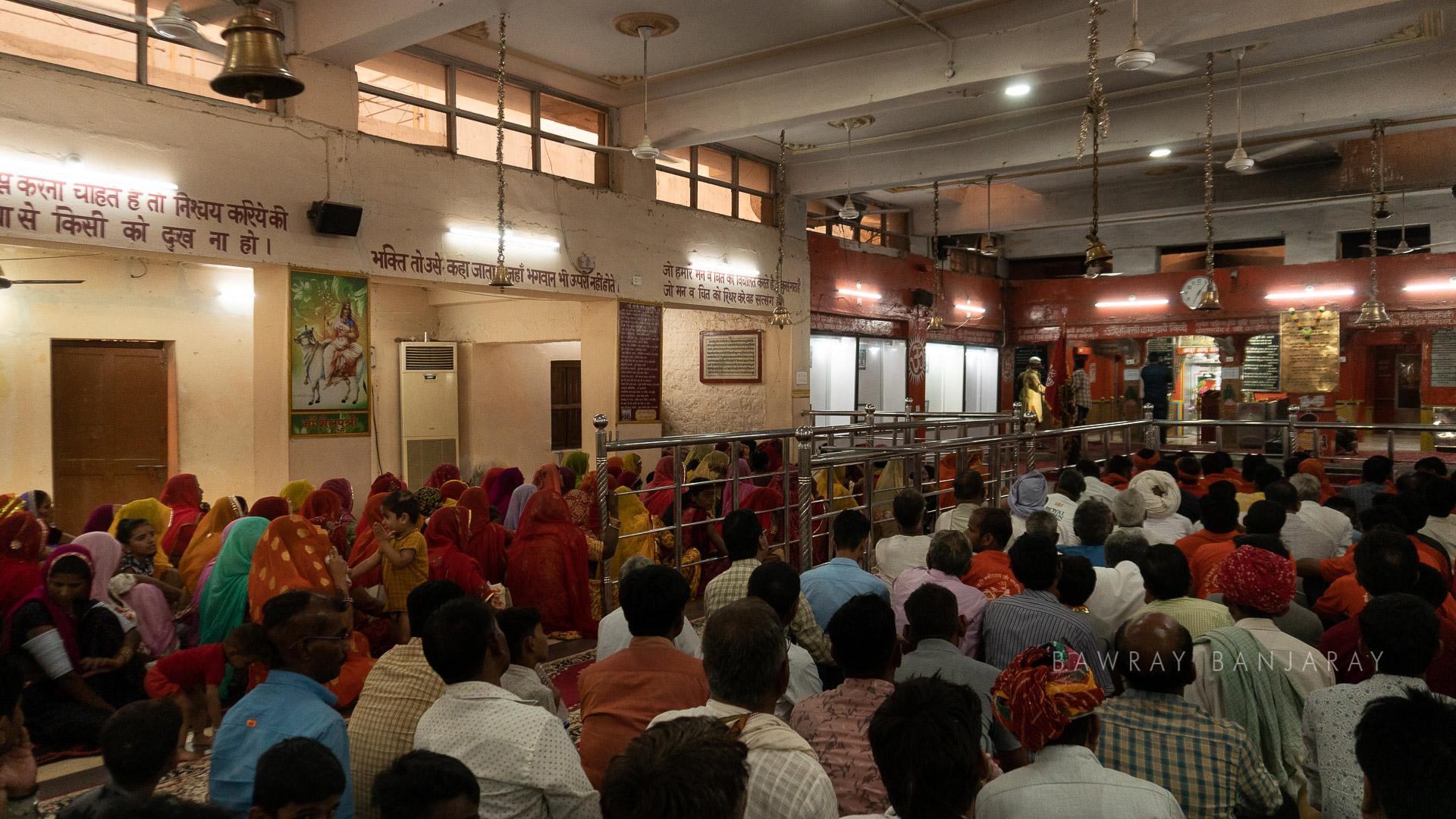 devotees at Tanot Mata Temple