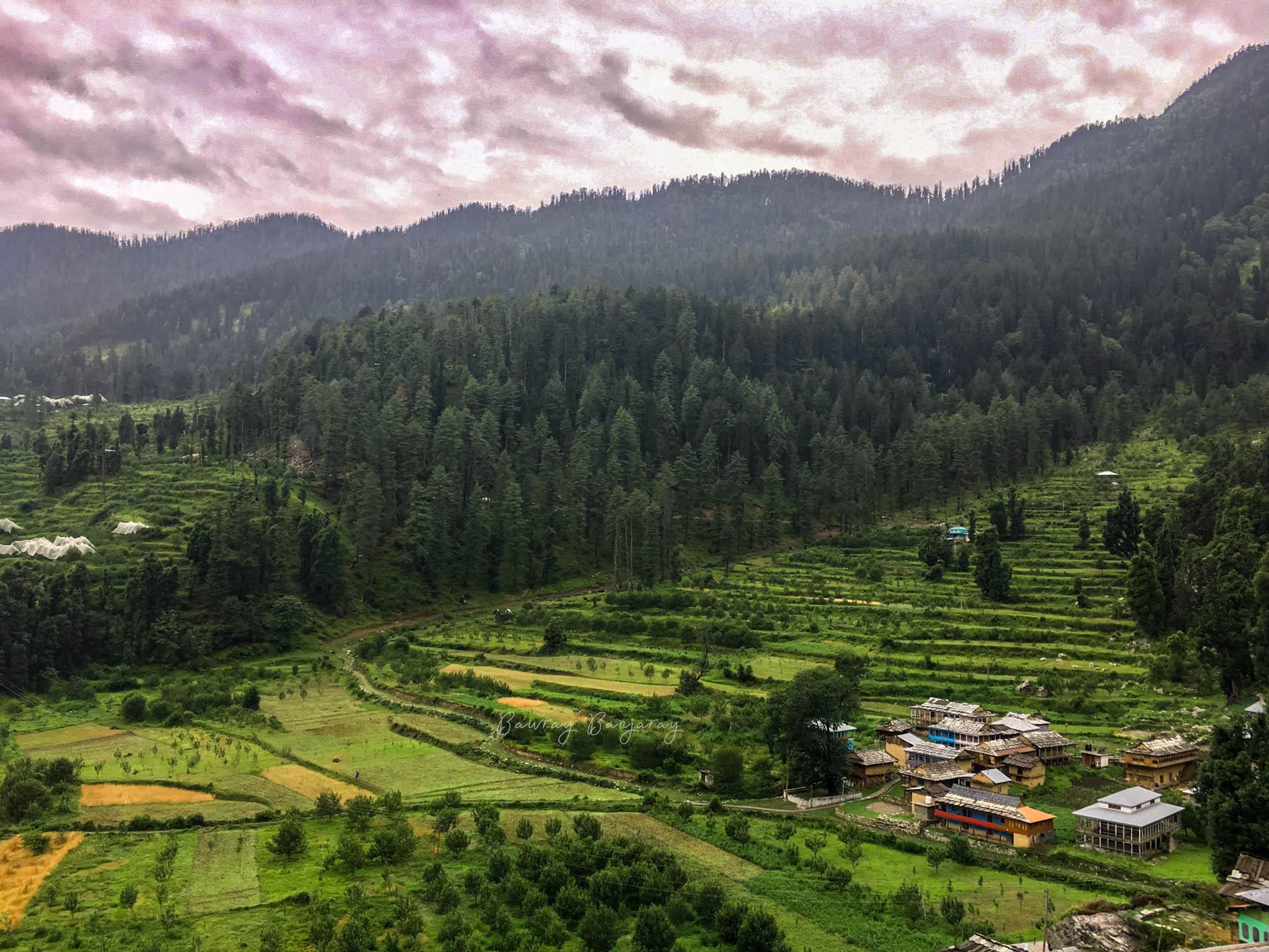 Diyaugi Village near Baga Sarahn
