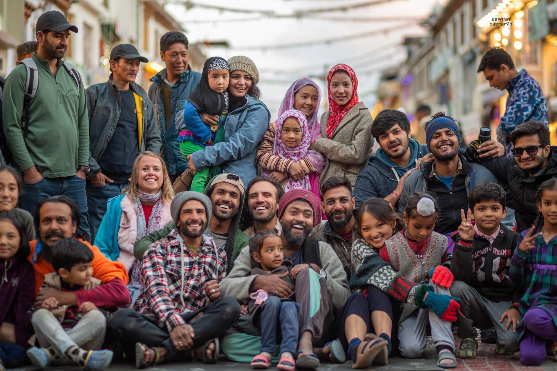 Bawray Banjaray crew during Le Ladakh in Leh
