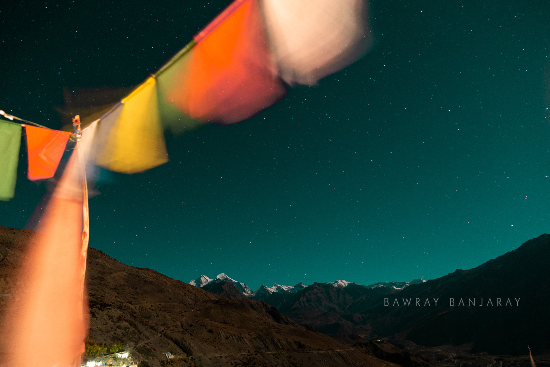 Night sky in Spiti