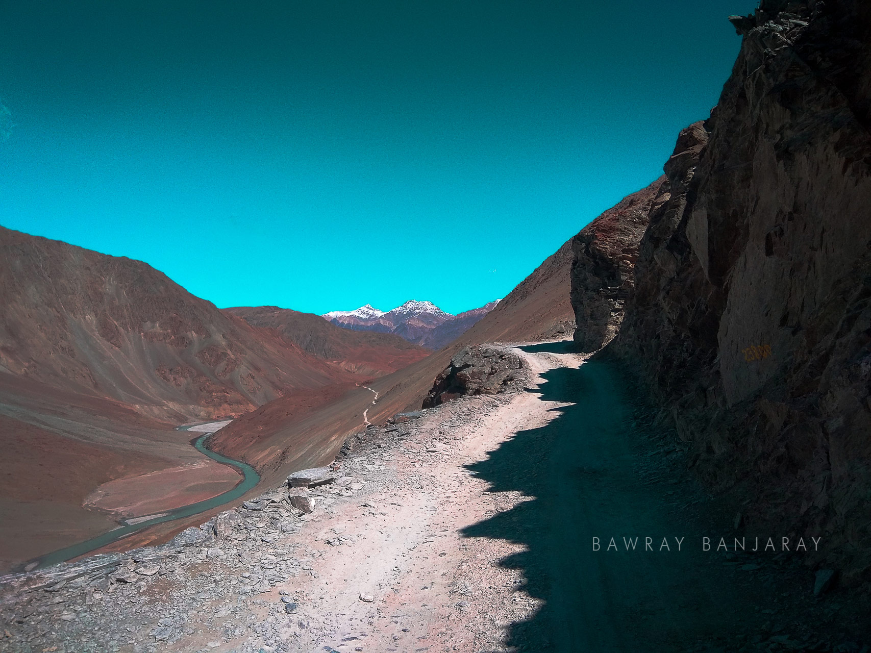 Road of Spiti Valley