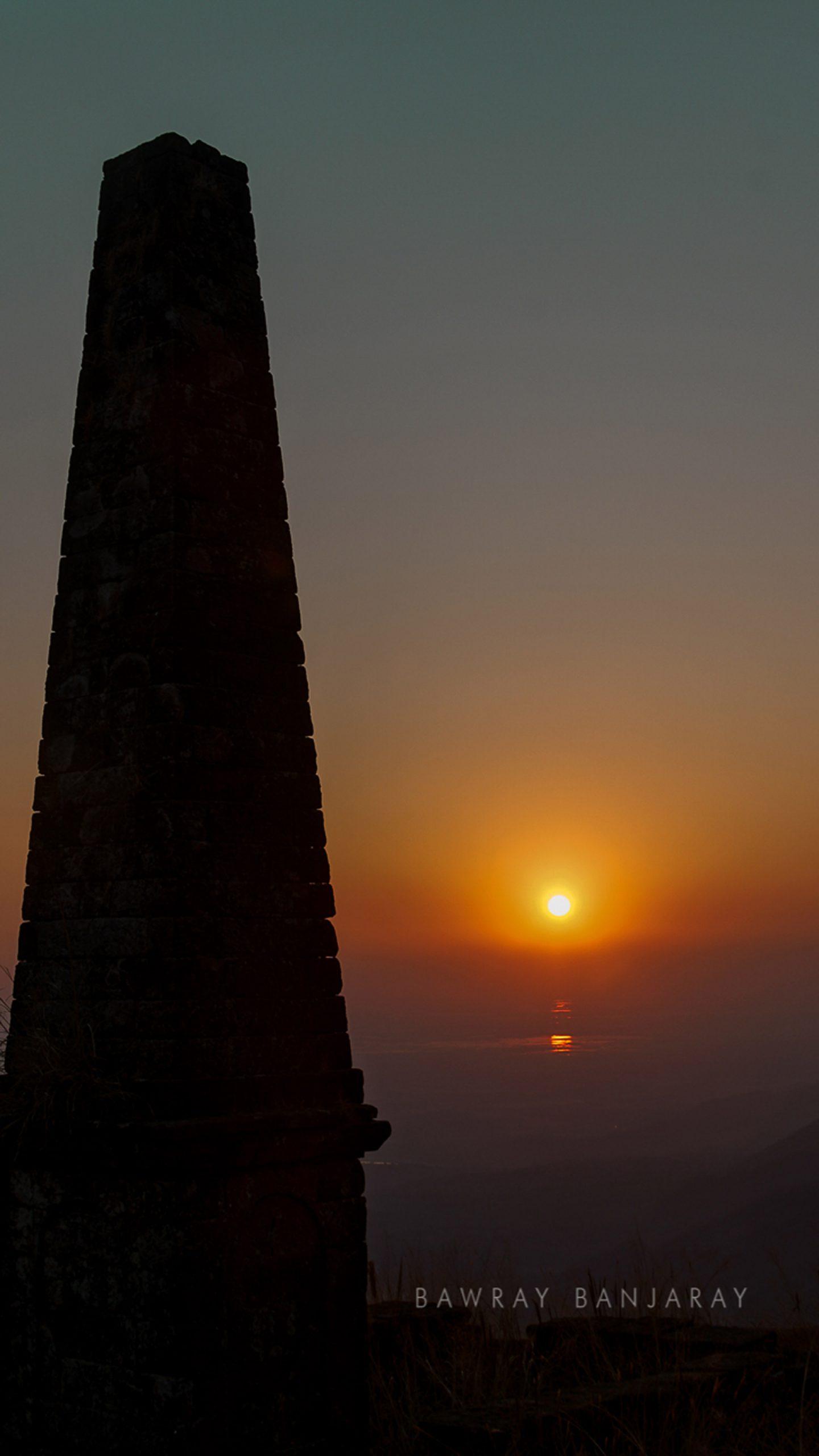 Sunset in Sohra