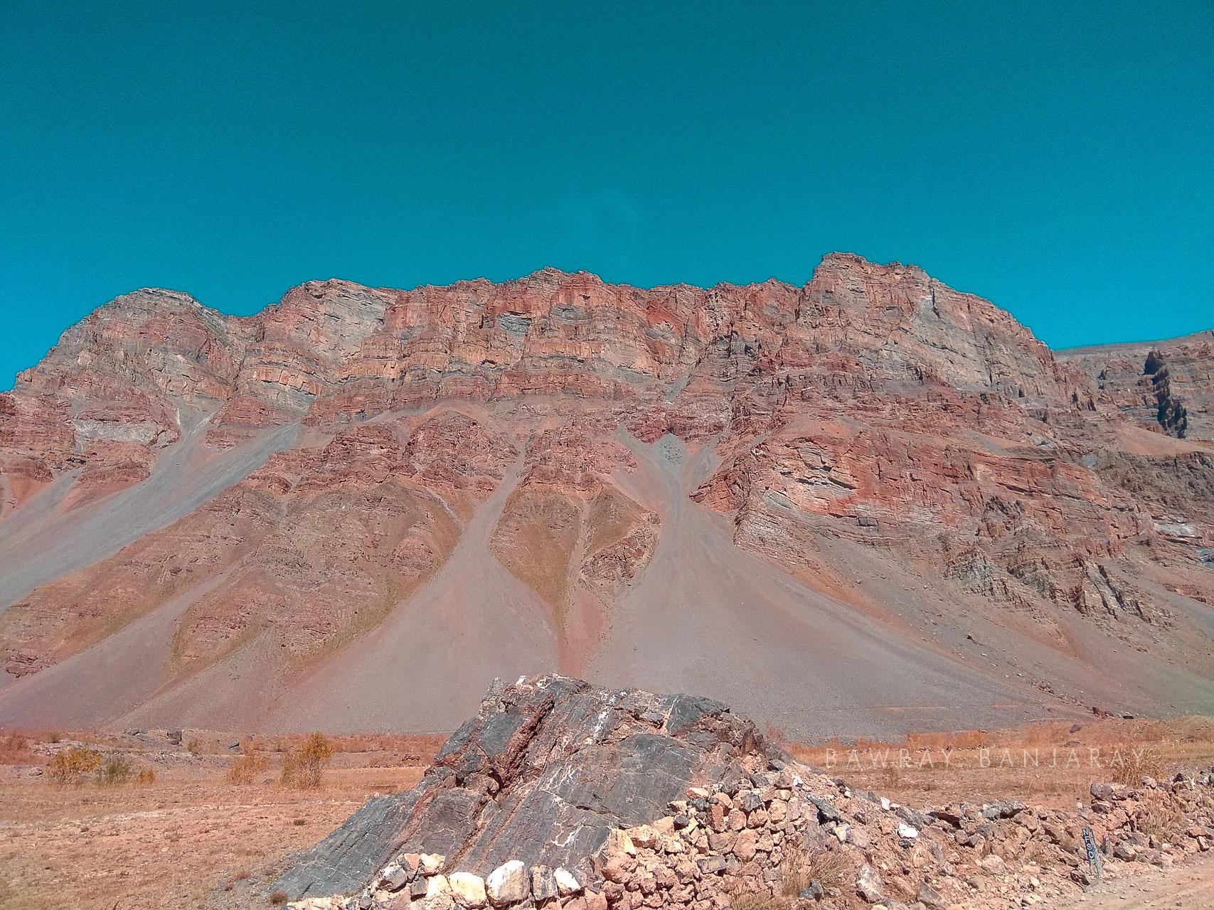 Strange mountains of Spiti