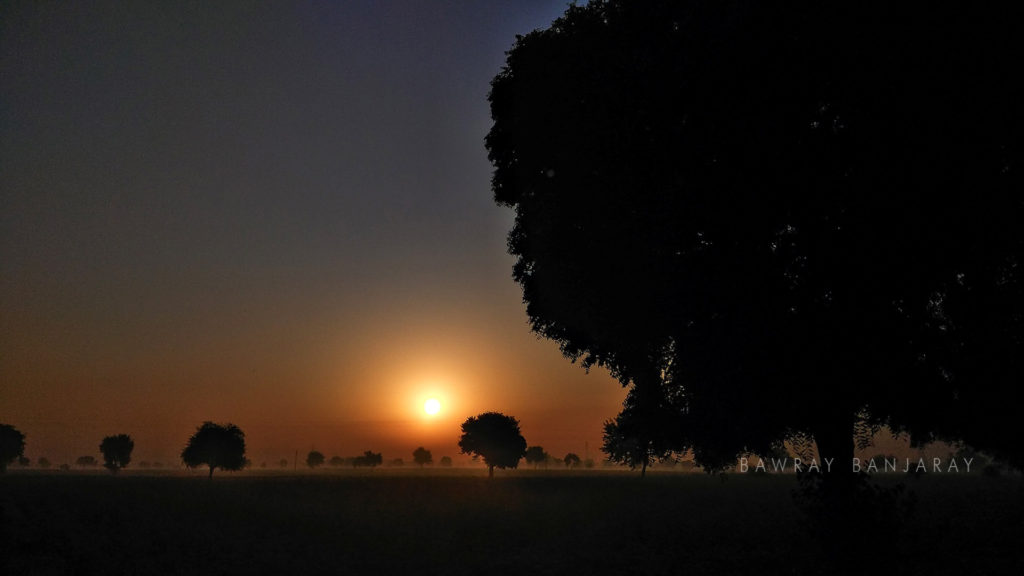 Sunset in Rewari