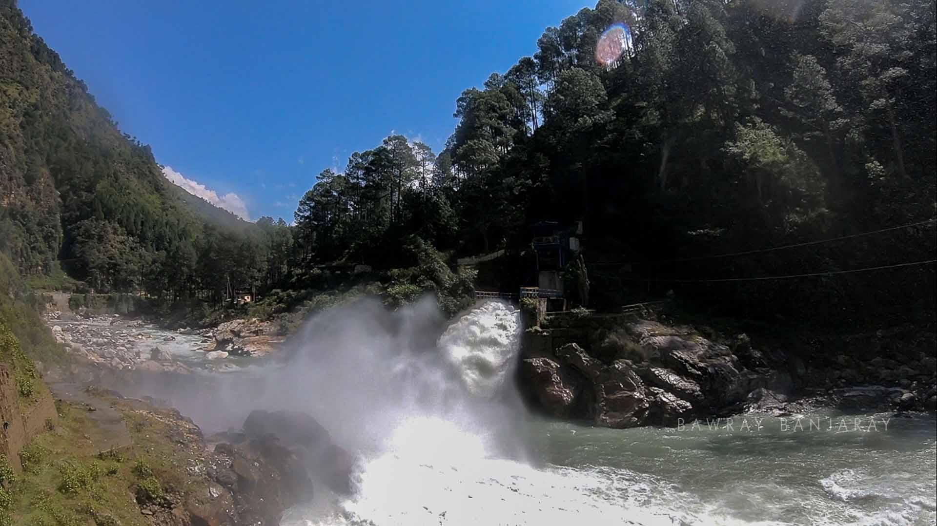 hydro power project near harshil