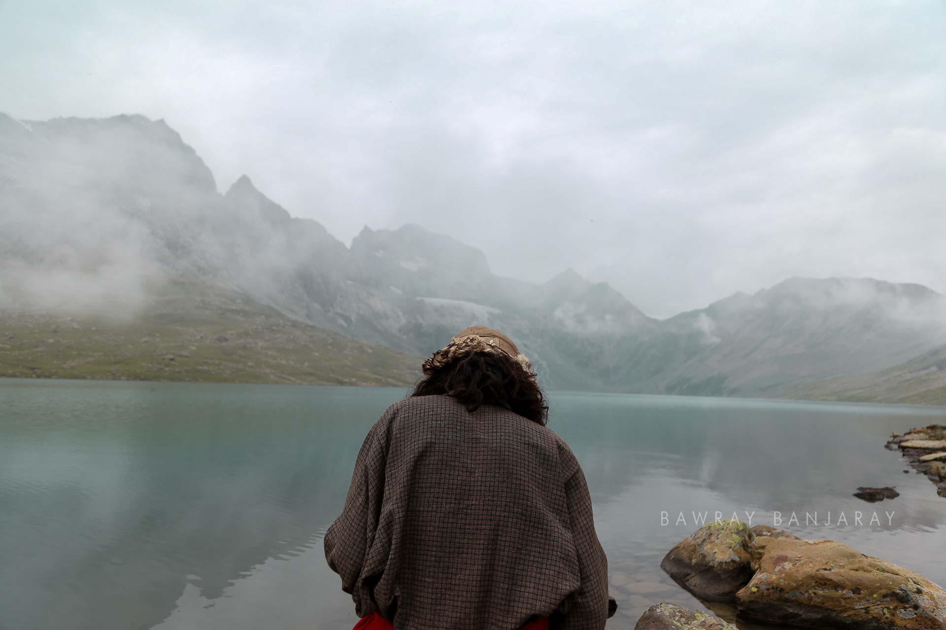 Izhar at Gangabal Lake