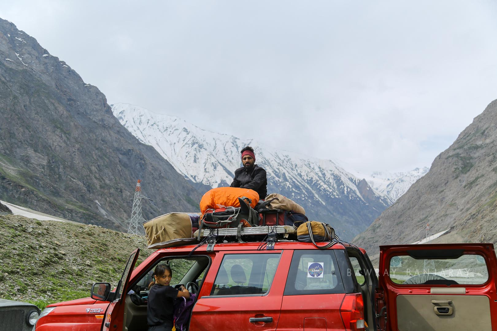 Narry on Le Ladakh Expedition