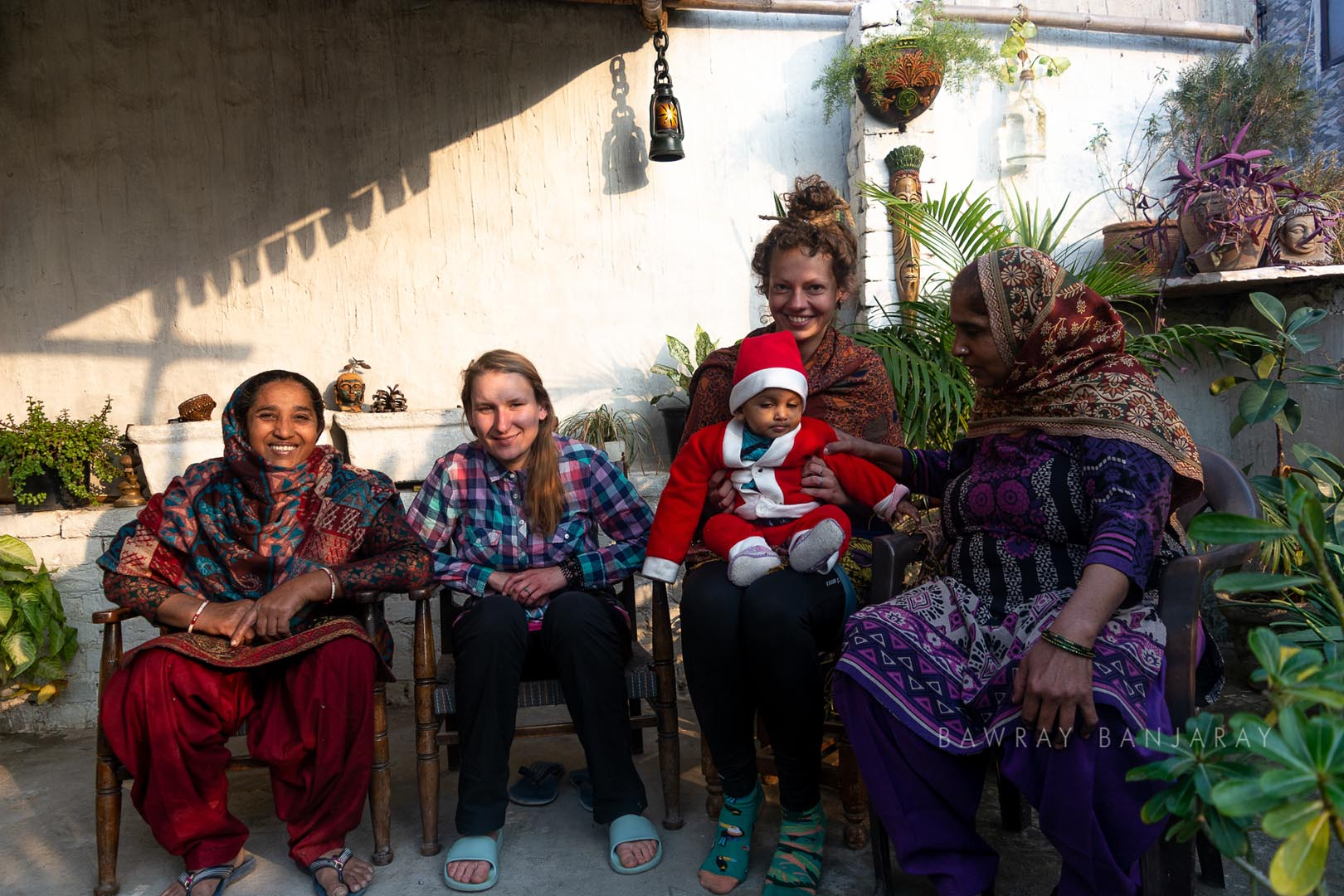 Joana Magda with Bawray Banjaray In Delhi