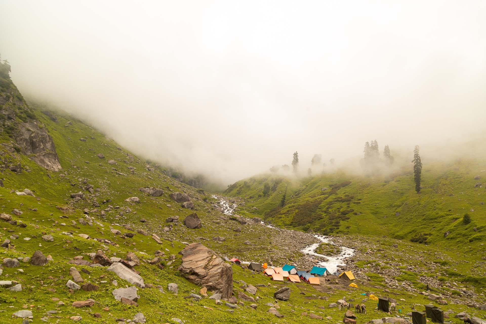 Clouds at Hampta Pass
