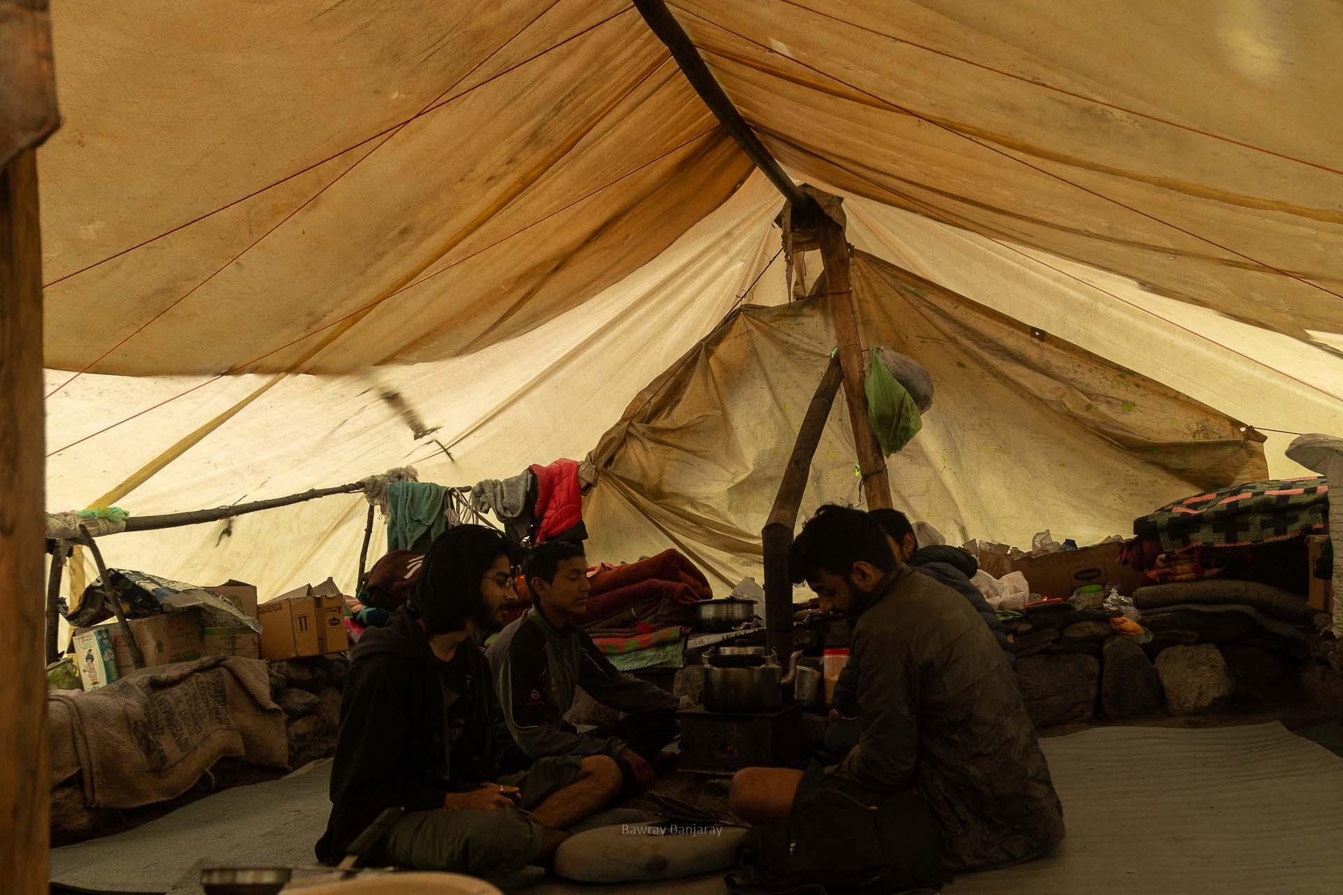 bawray banjaray at cheeka during hampta trek