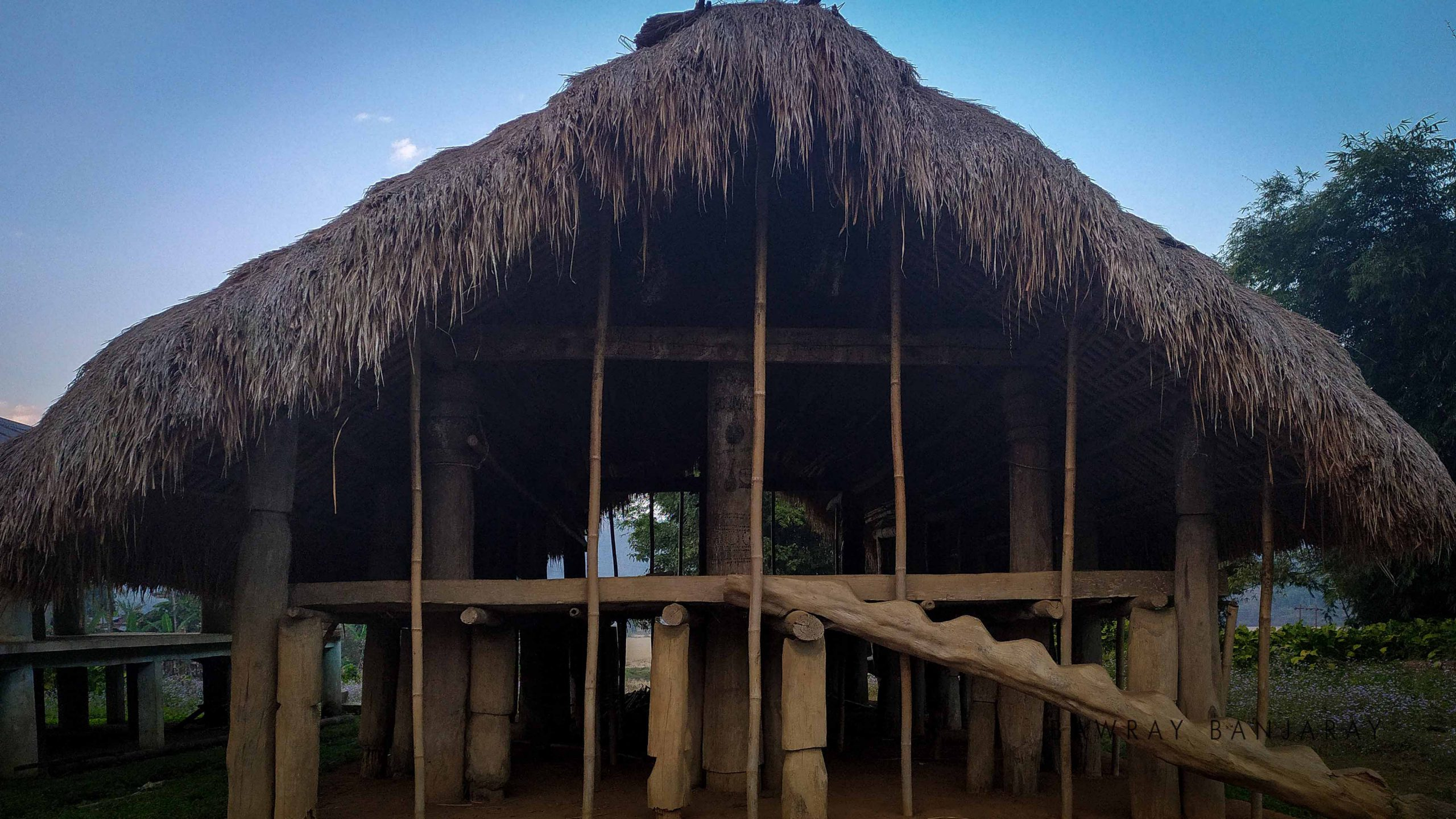 Batchelor dormitories of Hill Tiwa Tribe