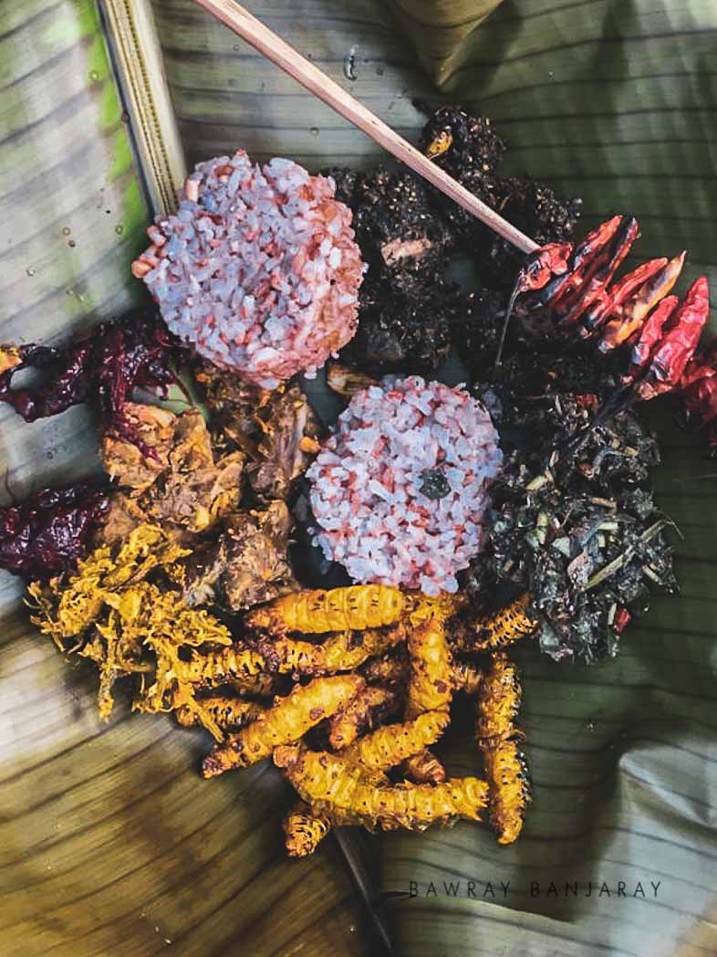 Traditional Food in umswai Valley