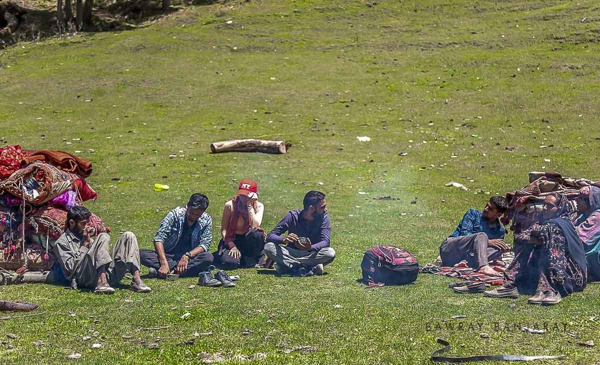 Bawray Banjaray with bakkarwals of Jammu in Bhaderwah