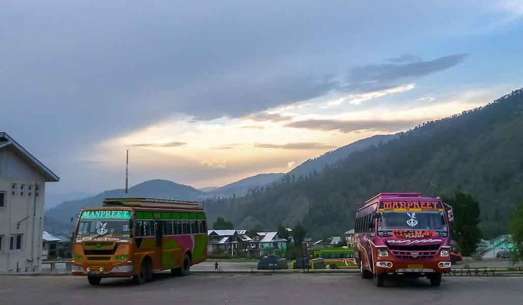 Bhaderwah bus stop