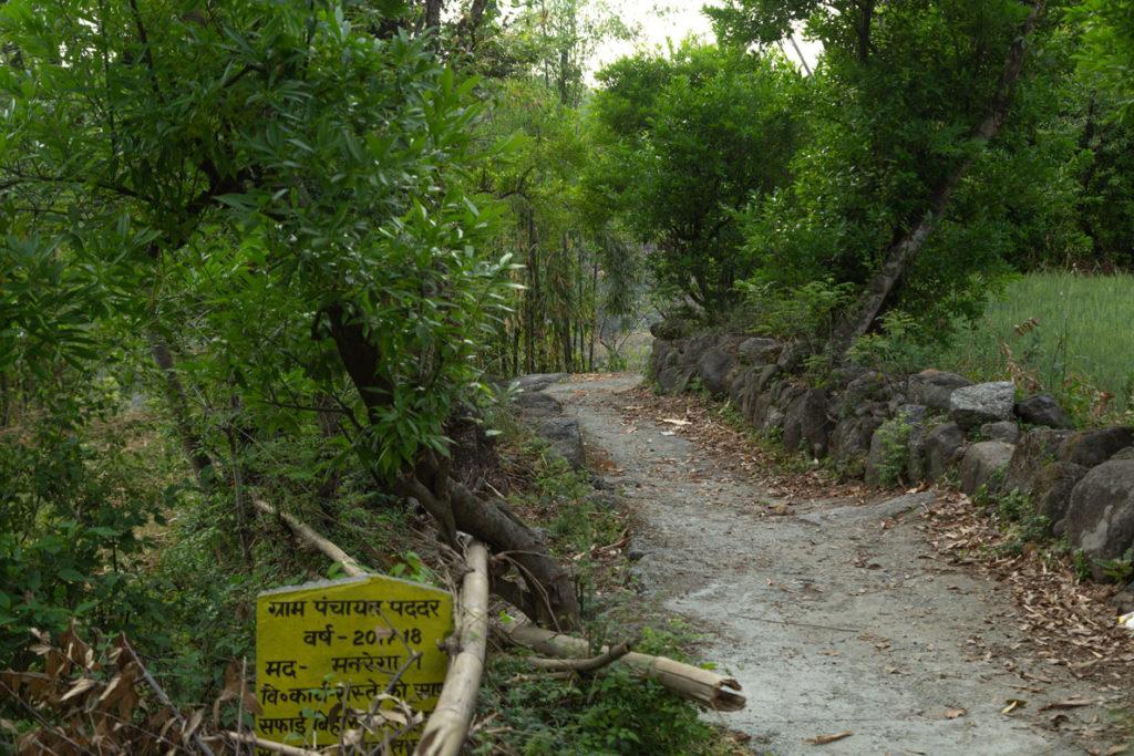 old village route in dhramshala