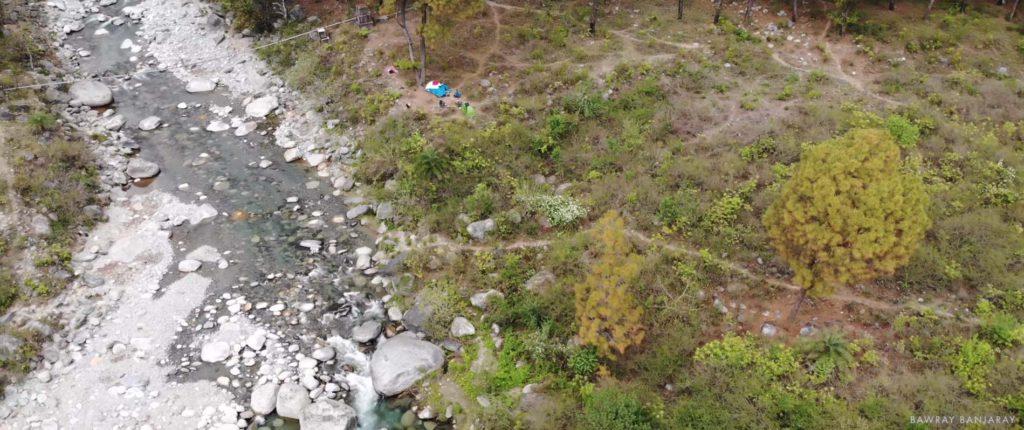 bawray banjaray camping in dhramshala