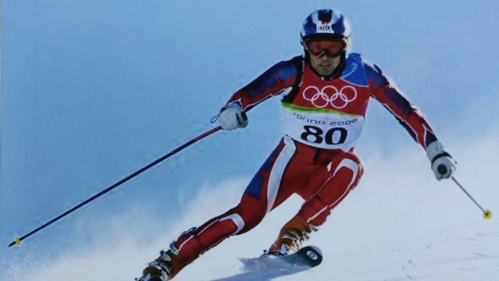 Indian Alpine Skier Hira Lal at Winter Olympics 2006